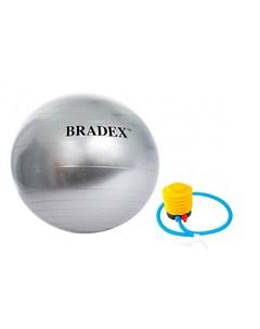 Мяч для фитнеса Фитбол 85 с насосом Bradex