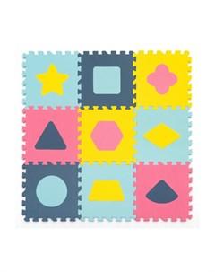 Игровой коврик с фигурами Геометрия толщина 15 мм KB D20C 9 NT Funkids