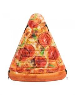 Надувной матрас Кусочек пиццы 175х145 см Intex