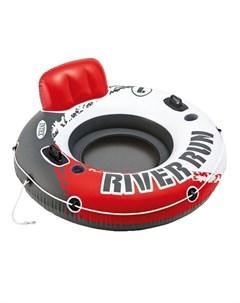 Надувной круг Ривер Ран с держателями для рук 135 см Intex