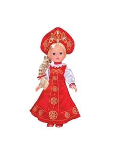 Кукла в русской одежде 33 см Карапуз
