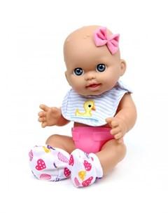 Кукла пупс с бантиком 30 см Lisa jane