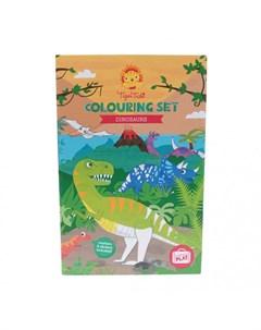 Набор для рисования Динозавры Tiger tribe