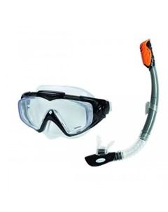 Плавательный набор маска трубка аква Intex