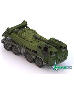 Военный тягач Щит с танком Нордпласт