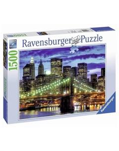 Пазл Небоскребы Нью Йорка 1500 элементов Ravensburger