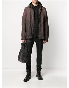 Куртка на молнии с капюшоном Isaac sellam experience