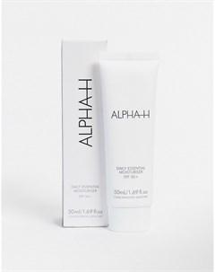 Увлажняющий крем для лица с SPF50 Daily Essential Бесцветный Alpha-h