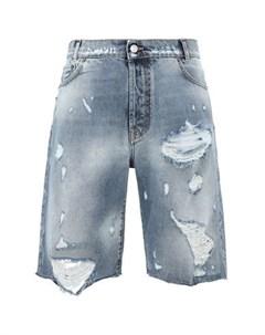 Джинсовые шорты Buscemi