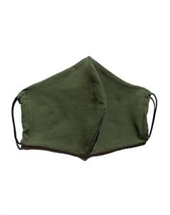 Маска защитная многоразовая с карманом для фильтра хаки 1 шт Face guard