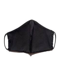 Маска защитная многоразовая с карманом для фильтра черная 1 шт Face guard