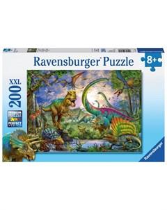 Пазл Мир динозавров 200 элементов Ravensburger