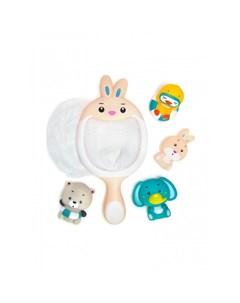 Набор игрушек для ванной Сачок Зайчик Яигрушка