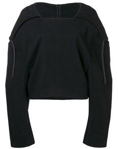 укороченный свитер с капюшоном Comme des garçons pre-owned