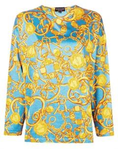 блузка с длинным рукавом Gucci pre-owned