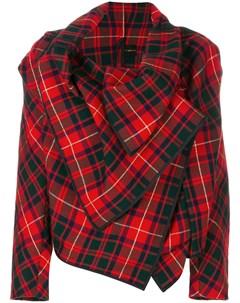 пиджак в Шотландскую клетку Comme des garçons pre-owned