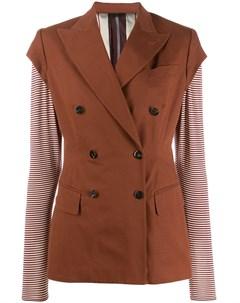 двубортный пиджак 1988 го года Jean paul gaultier pre-owned