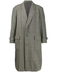 пальто в клетку Glen 1980 х годов Comme des garçons pre-owned