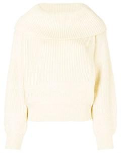 свитер с широким воротником Issey miyake pre-owned