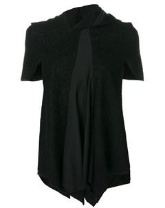 асимметричная кружевная блузка Comme des garçons pre-owned
