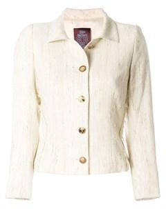 однобортный пиджак John galliano pre-owned