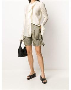 блузка с длинными рукавами и оборками Phaédo studios