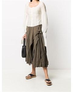 блузка с корсетом и длинными рукавами Phaédo studios