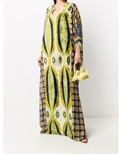 Платье макси с драпировкой Afroditi hera