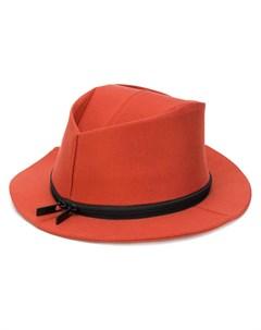 шляпа федора с молнией Issey miyake men