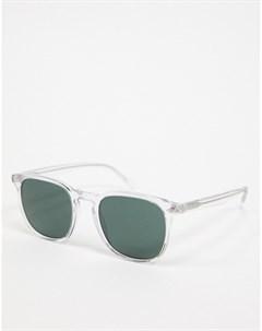 Круглые мужские солнцезащитные очки Vogue Очистить
