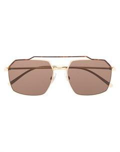 Солнцезащитные очки с гранеными дужками Dolce & gabbana eyewear
