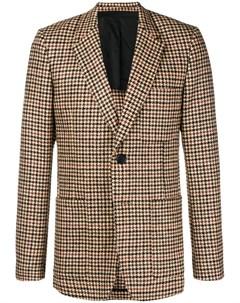 пиджак на двух пуговицах с частичной подкладкой Ami