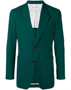 удлиненный пиджак на двух пуговицах Ami