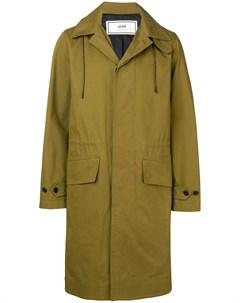 пальто с капюшоном Ami