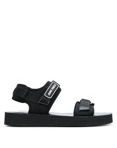 сандалии с ремешками Ami