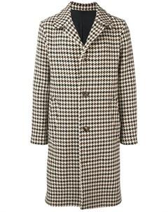 пальто в ломаную клетку Ami