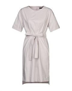 Платье до колена Overlapping