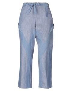Джинсовые брюки капри Twinset