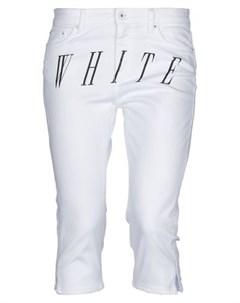 Джинсовые брюки капри Off-white
