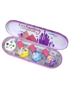 Princess Набор детской декоративной косметики для ногтей в пенале Markwins