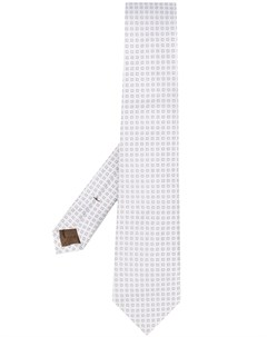 галстук с вышивкой Church's