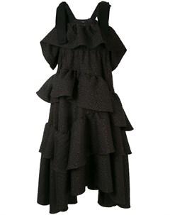 Ярусное платье миди Goen.j