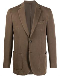 Однобортный пиджак Dell'oglio