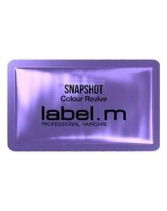Фиолетовая сыворотка Защита цвета Snapshot Label.m (великобритания)