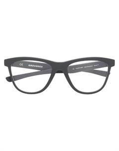 очки Grounded в оправе кошачий глаз Oakley