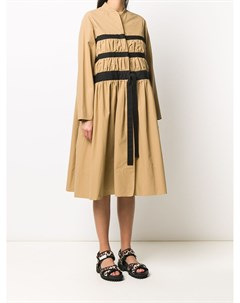 Платье миди со сборками Molly goddard