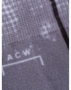 Носки Shard с узором A-cold-wall*