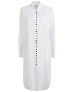 Хлопковое платье рубашка Wunderkind