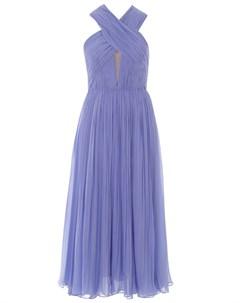 Шелковое платье Maria lucia hohan