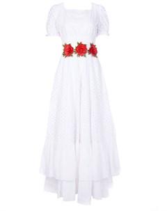 Хлопковое платье с цветами Von vonni